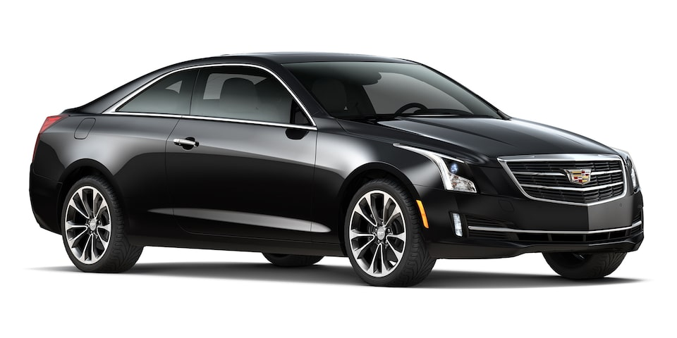 Cadillac ATS Coupé 2019 color black raven