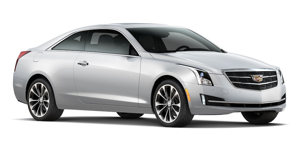 Cadillac ATS Coupé 2019 color crystal white