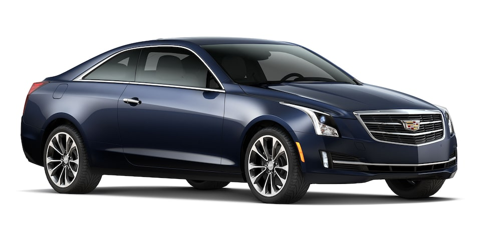 Cadillac ATS Coupé 2019 color dark blue metallic