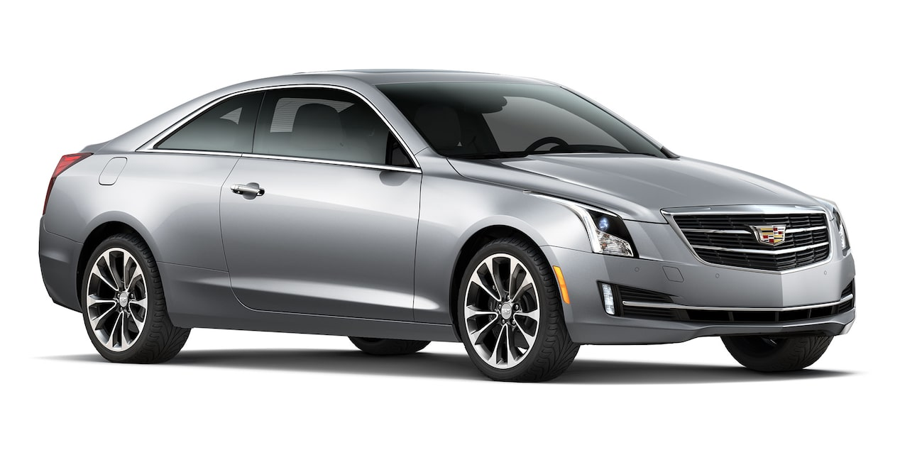 Cadillac ATS Coupé 2019 color radiant silver metallic
