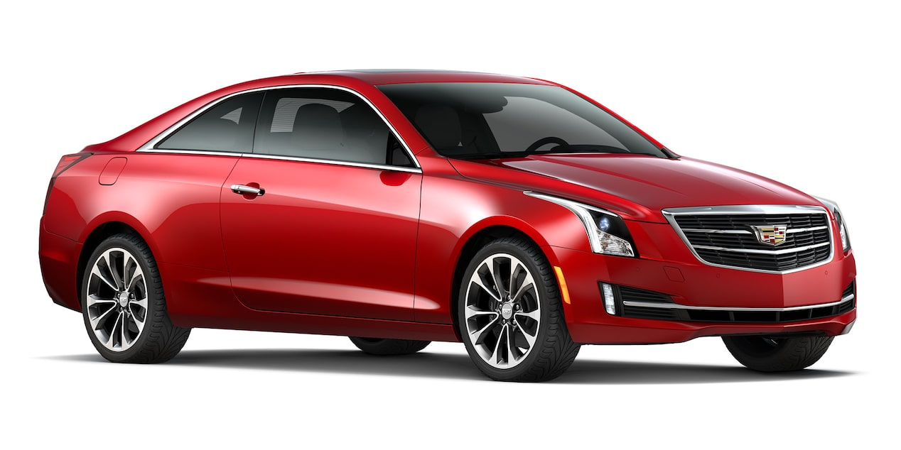 Cadillac ATS Coupé 2019 color red obsession