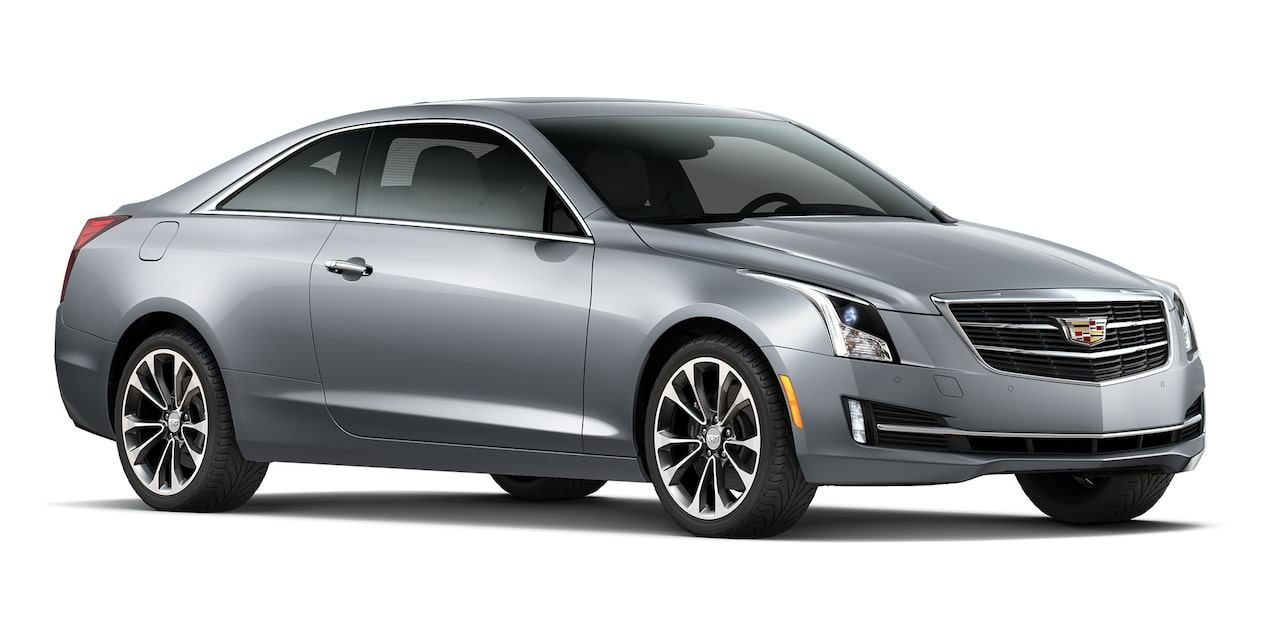 Cadillac ATS Coupé 2019 color satin steel metallic