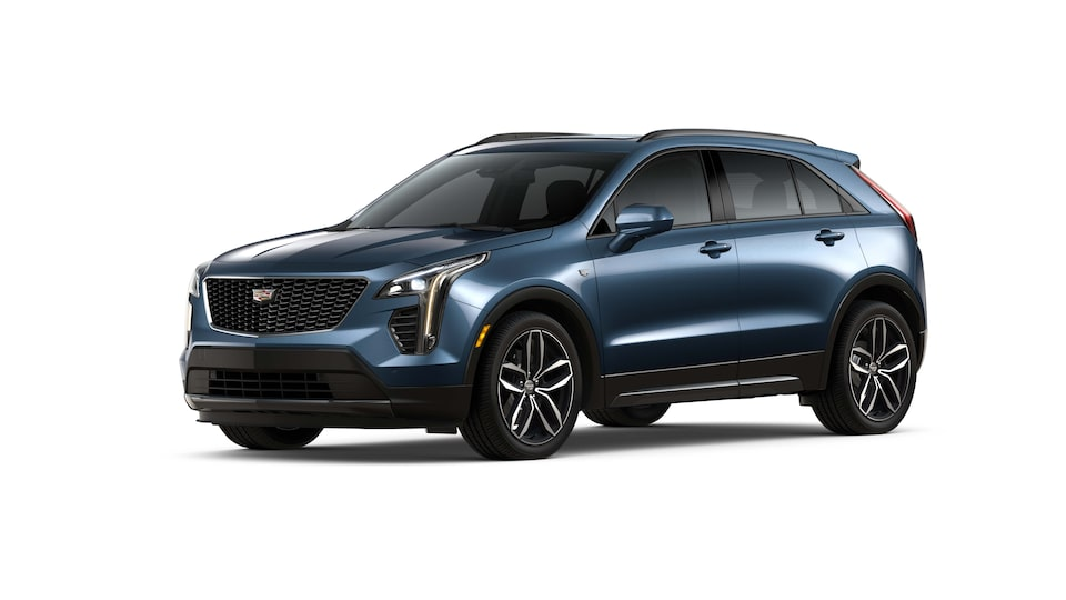 Cadillac XT4 2019 camioneta pequeña color twilight blue metallic